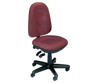 Armless High Back Chair, C80291