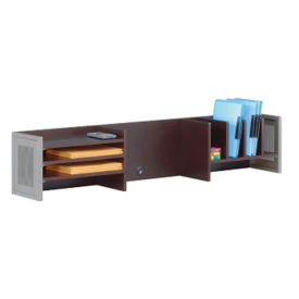 "At Work Desk Organizer Hutch 60""W, B34294"