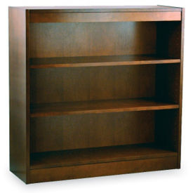 "Three Shelf Reinforced Bookcase 36"" High, L40314"