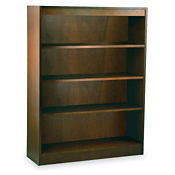 "Four Shelf Reinforced Bookcase 48"" High, L40315"