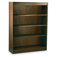 "Four Shelf Reinforced Bookcase 48"" High, L40315"
