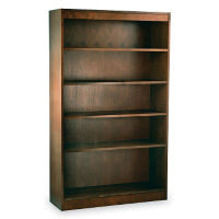 "Five Shelf Reinforced Bookcase 60'""High, L40316"