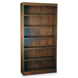 "Six Shelf Reinforced Bookcase 72'""High, L40317"