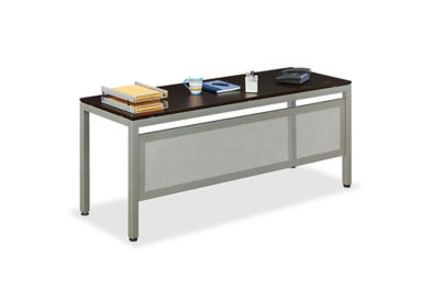 "At Work Training Table with Modesty Panel - 72"" x 24"", T11268"