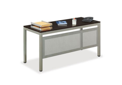 "At Work Training Table with Modesty Panel - 60"" x 24"", T11269"