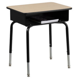 Student Desk with Open Book Box, D35665