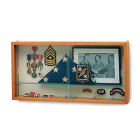 Wall Mounted Specialty Display Case, B34588