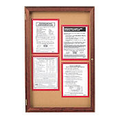 "Indoor Bulletin Board 24""x36"", B20550"