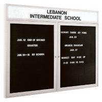 "Indoor Directory Board 60"" x 36"", B20599"