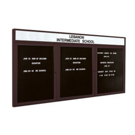 "Indoor Directory Board 72""x36"", B20607"