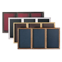 "Bronze Tone Indoor Directory Board 96""x48"", B20636"