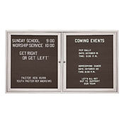 "Outdoor Directory Board 48""wx36""h, B20714"
