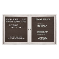 "Outdoor Directory Board 60""wx48""h, B20716"