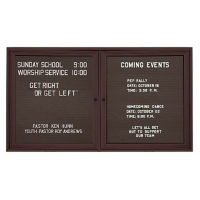 "Outdoor Directory Board 60""wx36""h, B20725"