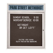 Outdoor Directory with Illuminated Header, B20803