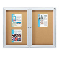 "Outdoor Bulletin Board 96""x48"", B20739"