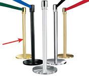 Mirror Brass Post with 7' Strap, G10045
