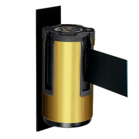 Satin Brass Wall-Mount with 12' Strap, G10058