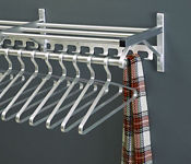 "Coat Rack with Shelf and Extra Hooks 24"" Long, W60026"