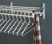 "Coat Rack with Shelf and Extra Hooks 48"" Long, W60026C"