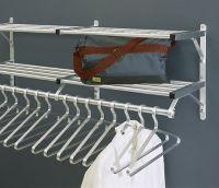 "Coat Rack with 2 Shelves 54"" Long, W60027D"