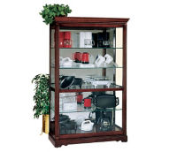 "Townsend Display Case 50'' W  x 80"" H with Mirror Back, B34257"