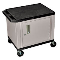"Tuffy Utility Cart with Cabinet 26"" high, D43074"