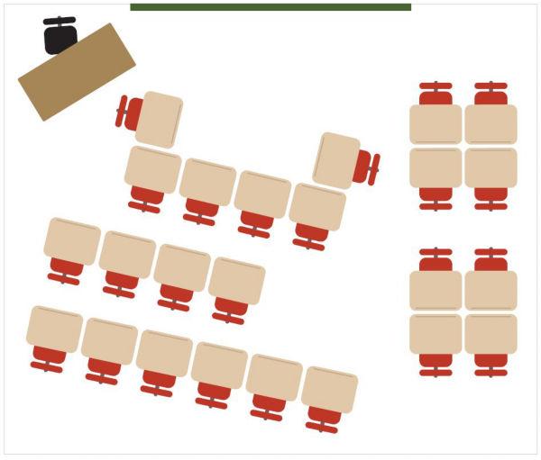 Classroom Design Cooperative Clusters ~ Classroom arrangement tips nbf