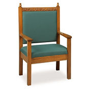 "44""H Pulpit Chair, C30105"