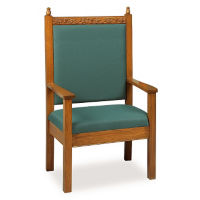 "48""H Pulpit Chair, C30106"