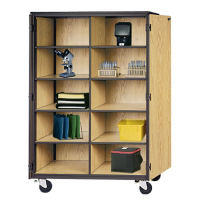 Cubical Storage on Wheels, D31153