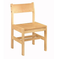 Wooden Library Chair, C70363