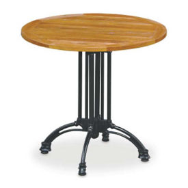 "Outdoor Teak Table - 32"" Round, F10185"