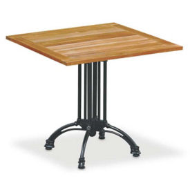 "Outdoor Teak Table - 32"" Square, F10184"