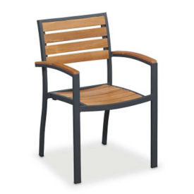 Outdoor Teak Stack Chair, F10182