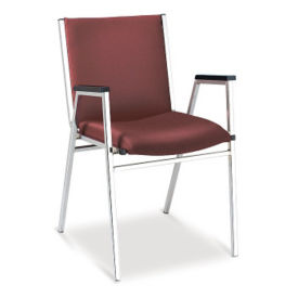 Vinyl Stack Chair, C67761