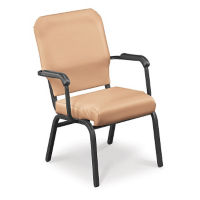 Vinyl Wing Stack Chair with Bolster Seat, C67813