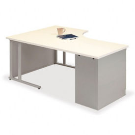 Instructor Desk with Left Return, J10026