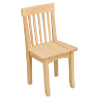 "Child-Height Wooden Chair 14""H, P30198"