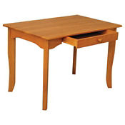"Activity Table Desk with Center Drawer 36""W x 24""H, P30199"