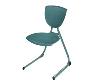 "Heavy Duty Stack Chair with 12"" High Seat, C60130"