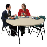 "DuraLite Folding Table 72"" Round, D41303"