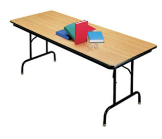 "Pedestal Leg Folding Table 30"" x 72"", D41527"