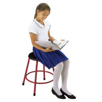 "19""-27"" Adjustable Height Stool, D57042"