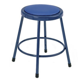 Vinyl No Back Stool Adj 19-27, D57043
