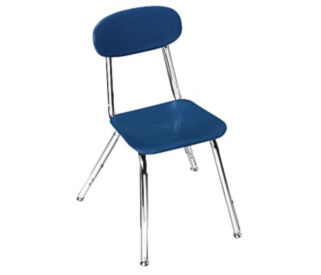 "Adjustable Height School Chair 12"" - 16"" High, D57138"