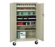 Mobile Media Cabinet, M10139A