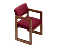 Fabric Open Back Guest Chair, W60267