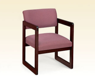Heavy Duty Fabric Guest Chair, D53014