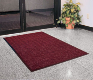 Chevron Floor Mat 3' x 4', W60052